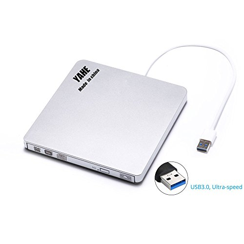 External USB 3.0 Portable CD/DVDRW,Super Speed External DVD Drive Optical CD+/-RW DVD +/-RW Superdrive with Built-in USB 3.0 Cable for Apple Macbook Pro Air iMAC and Windows PC other Laptops/Desktops (Imac Cleaning Software compare prices)