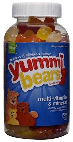 Christmas Yummi Bears Multi-Vitamin & Mineral, 200-Count Gummy Bears Deals