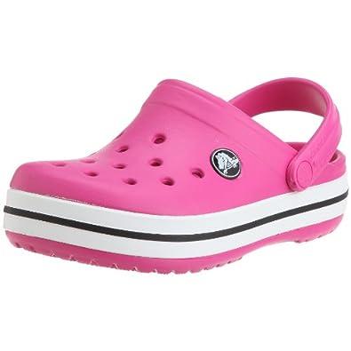 crocs Kids Crocband 10998-670-105, Unisex-Kinder Clogs & Pantoletten, Pink (Fuchsia 670), EU 19-21 (UKC4-5)