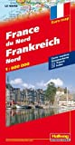 Hallwag International Frankreich Nord 1 : 600 000: Strassenkarte. Transit. Index. (Euro Map)