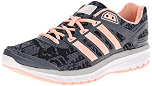 adidas Performance Women's Duramo 6 W Running Shoe, Onix/Orange/Dark Grey, 12 M US