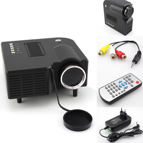 Orierchant Best 80Inch Lcd Led Sd Vga Av Usb Hdmi Audio Video Headphone Home Theatre Projector