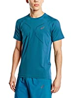 Asics Camiseta Manga Corta Fujitrail Ultra Top (Azul)