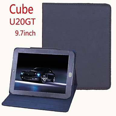 Zcl Original Stand Pu Leather Protect Tablet Case Cover For Tablet Pc Cube U20Gt , Black