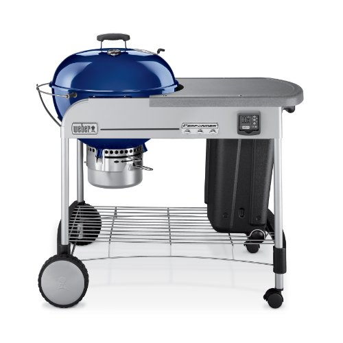 Weber 1438001 Performer Gold Charcoal Grill, Dark Blue