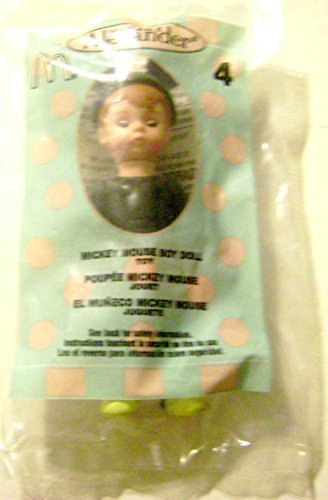 2004 Mcdonald's Madame Alexander 4 Mickey Mouse Boy Doll - 1