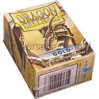 Dragon Shield Deck Protector Pack - Gold