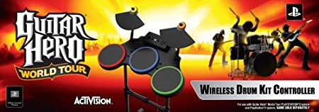 PS2/PS3 Guitar Hero World Tour-Stand Alone Drums