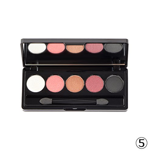 pure vie professionelle 5 farben lidschatten palette makeup kit 5 ideal f r sowohl den. Black Bedroom Furniture Sets. Home Design Ideas