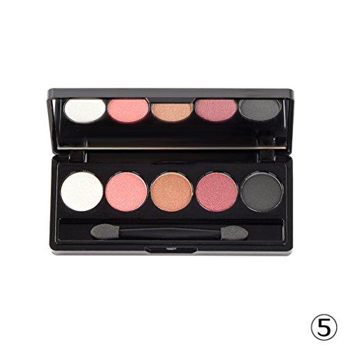 pure vie professionelle 5 farben lidschatten palette makeup kit 5 ideal f r sowohl den. Black Bedroom Furniture Sets. Home Design Ideas