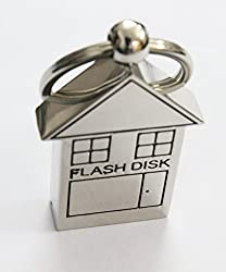 Anyusb620 Fancy House Shape Pen Drive (8 Gb) + Exclusive Hand Made Gift Box