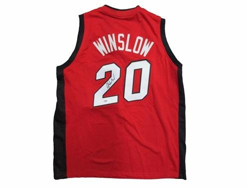 Justise Winslow Signed Miami Heat Basketball Jersey PSA/DNA Z65516