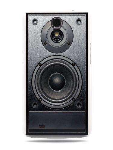 Grüv Premium Case 'Retro Vintage 80S 90S Dj Audio Speaker' Design For Samsung Galaxy Mega 6.3 I9200 (Best Quality Designer Print On White Hard Cover)