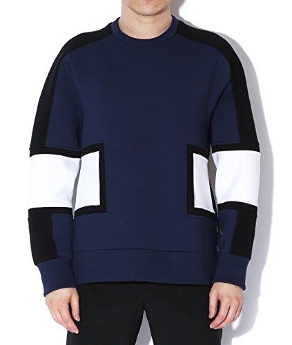 neil-barrett-mens-square-panel-neoprene-sweatshirt-s-navy