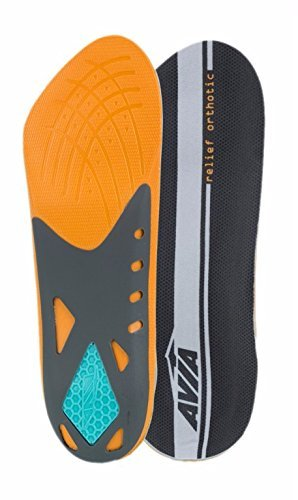 avia-heel-relief-plantar-fasciitis-orthotic-insole-level-3-mens-size-8-12-by-avia