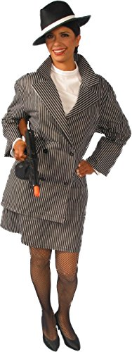 Alexanders Costumes Women's Gangster Female