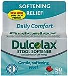 Dulcolax Stool Softener, Liquid Gels,...