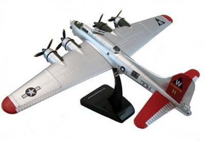 InAir Sky Champs B-17 Flying Fortress-Red