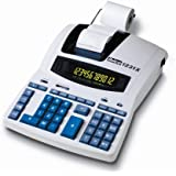 Rexel Ibico 1231X Professional Print Calculator White/Blue