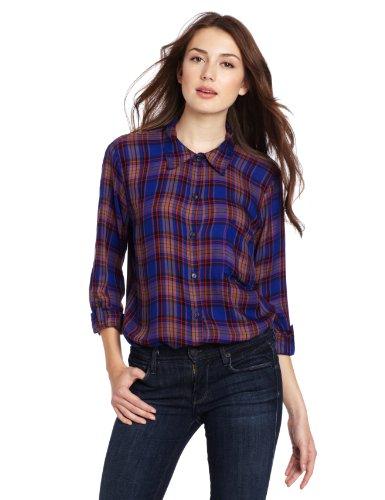 Splendid Women's Buttondown Collared Shirt