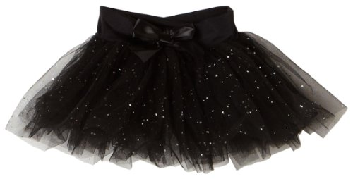 Capezio Girls 2-6x Children'S Tutu Skirt W/ Glitter Tulle,Black,T (2-4)