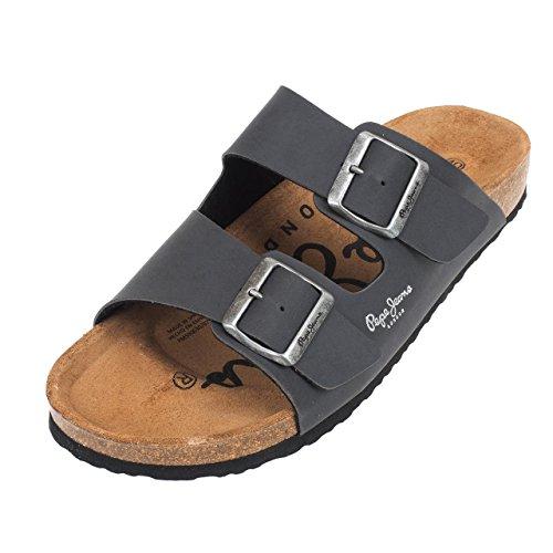 Pepe Jeans ,  Sabot/sandali uomo Gris Anthracite foncé 41
