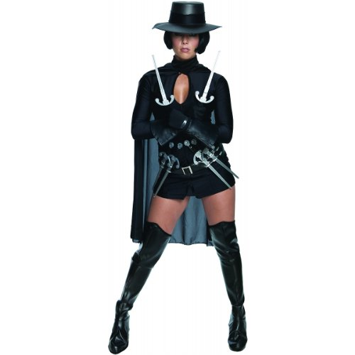 V for Vendetta Sexy Small Costume Size 6-8