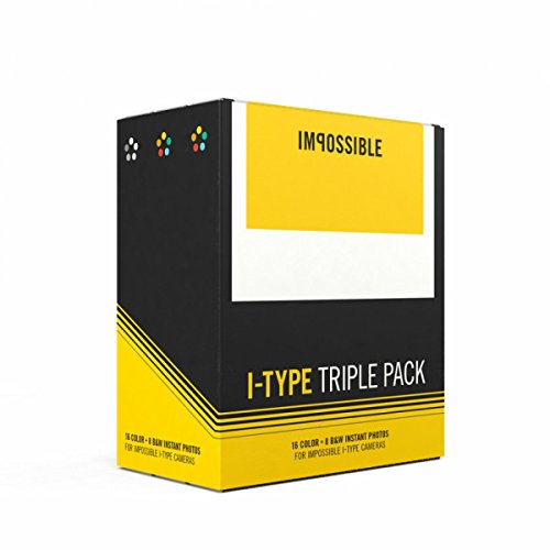 Impossible Project Polaroid I-Type Triple Pack (I Type compare prices)
