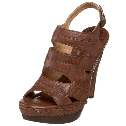 Frye Women's Dara Campus Stitch 73625 Heeled Sandal Brown 73625Brn7 5 UK