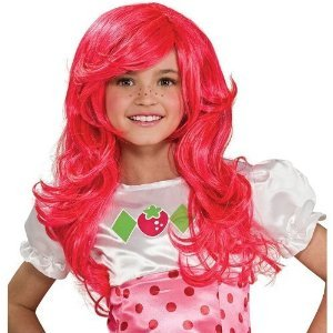 Kids Strawberry Shortcake Wig from Rubies Costume Co. Inc