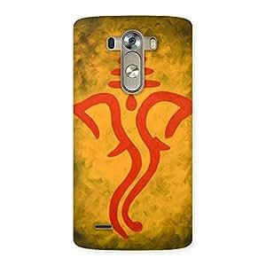 Special Ganesha Art Back Case Cover for LG G3