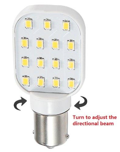 Gold Stars 11568304 Led Replacement Bulb 1156 Base 150 Lum 12 Or 24V Natural White (1)