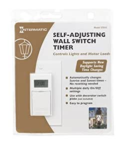 Digital In Wall Timer St01c White Intermatic Ss8 Replac