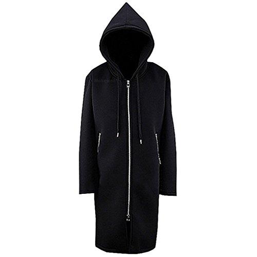 Mokewen-Mens-Zipper-Hodded-Designer-Jacket