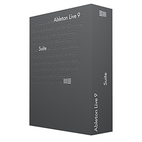 ableton live 9 suite upgrade from live lite. Black Bedroom Furniture Sets. Home Design Ideas