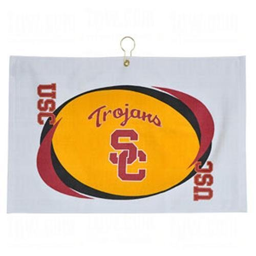 Team Effort Collegiate Printed Golf Towels Usc at Amazon.com