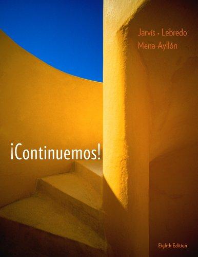 Continuemos! (Spanish Edition)