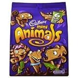 Cadbury Mini Animals Mini Bags 6 X 22G