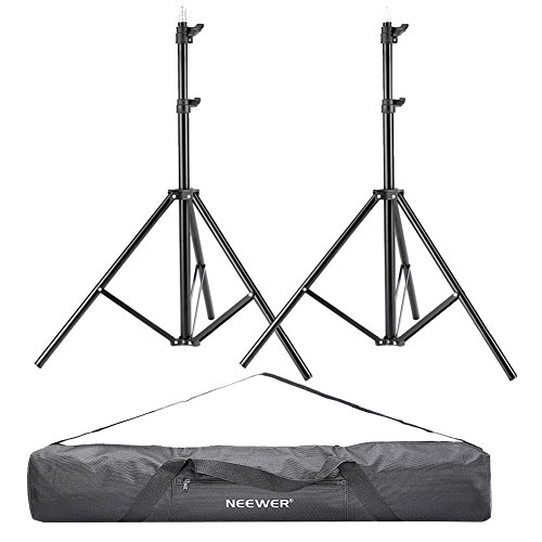neewerr-2-pieces-75-6-feet-190cm-photography-light-stands-with-36-92cm-carrying-bag-for-reflectors-s