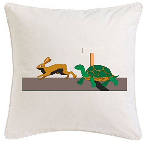 taie-doreiller-40x40cm-tortue-et-film-culte-hare-cartoon-fun-fun-fun-fun-haut-cartoon-film-culte-pou