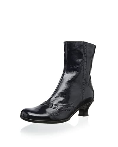 La Canadienne Women's Tiara Winter Boot  - Navy Patent