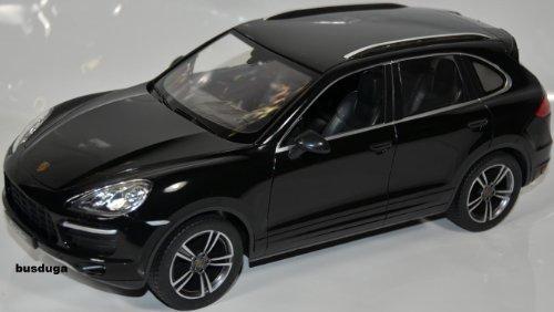 RC Porsche Cayenne Turbo – Maßstab.: 1:14 – ferngesteuert mit LED-Licht – komplett Set – Farbe.: schwarz – LIZENZ-NACHBAU jetzt bestellen