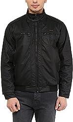 OKANE Mens Nylon Jacket (51115, Black, L)