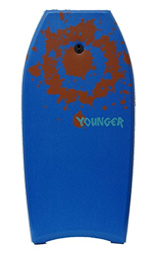 YOUNGER 41 inch Super Bodyboard, Perfect surfing, IXPE deck, Blue