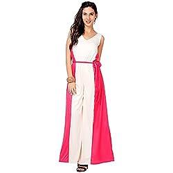 Eavan Women's Party Wear Bright Polyester Jumpsuit