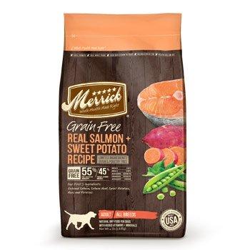 Merrick Grain Free Salmon & Sweet Potato Limited Ingredients Adult Dog Food, 12 Lb.