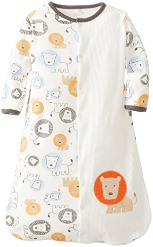 Rene Rofe Baby Newborn Boys Snap Front Lion Snuggle Sack, Multi, 0-6 Months
