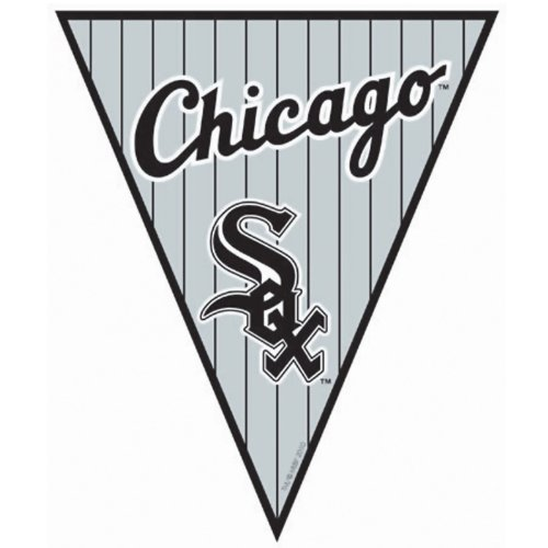 Chicago White Sox Baseball - Pennant Banner Party Accessory