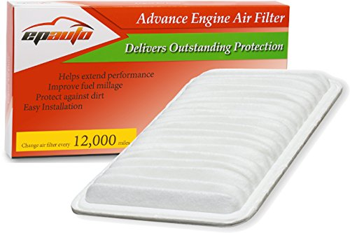 EPAuto GP360 (CA9360) Toyota / Lexus Rigid Panel Engine Air Filter (Toyota Sienna Air Filter 2004 compare prices)