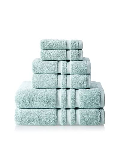 Chortex Irvington 6-Piece Towel Set, Mineral
